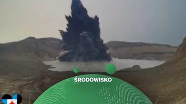 Wybuch wulkanu Taal