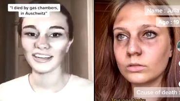 Niepokojący trend na TikToku. Twórcy udają ofiary Holokaustu