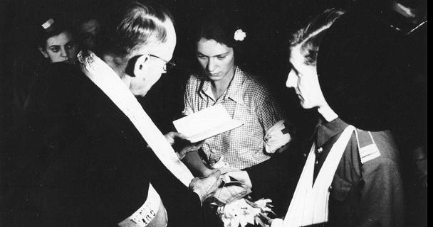 Nie żyje Alicja Treutler-Biega, bohaterka najsłynniejszego powstańczego ślubu.