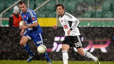 Bartosz Bereszyński w meczu Legia - Ruch