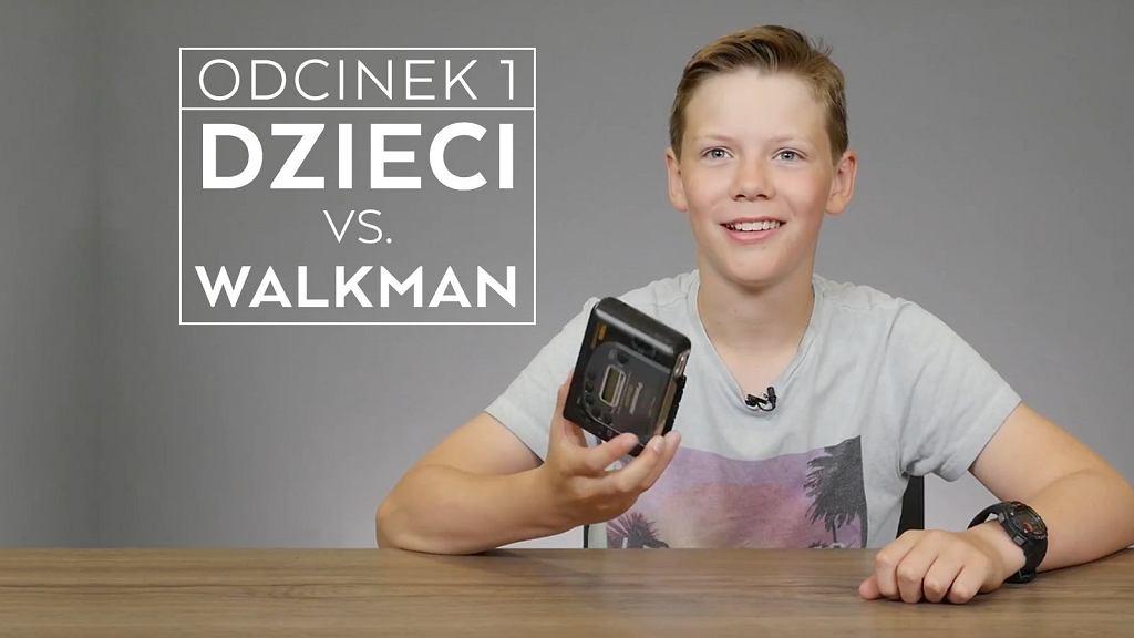 Dzieci vs. walkman