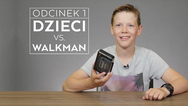 """""""Walkman? Tak, mieliśmy to na historii"""" - dzieci o przedmiocie marzeń lat 80-tych [WIDEO]"""