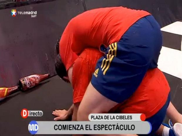 Hiszpanie celebrują mistrzostwo