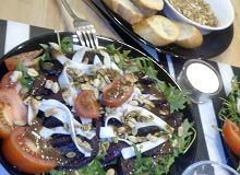 Sałatka z pieczonym burakiem i bakaliami na grilla i piknik - ugotuj