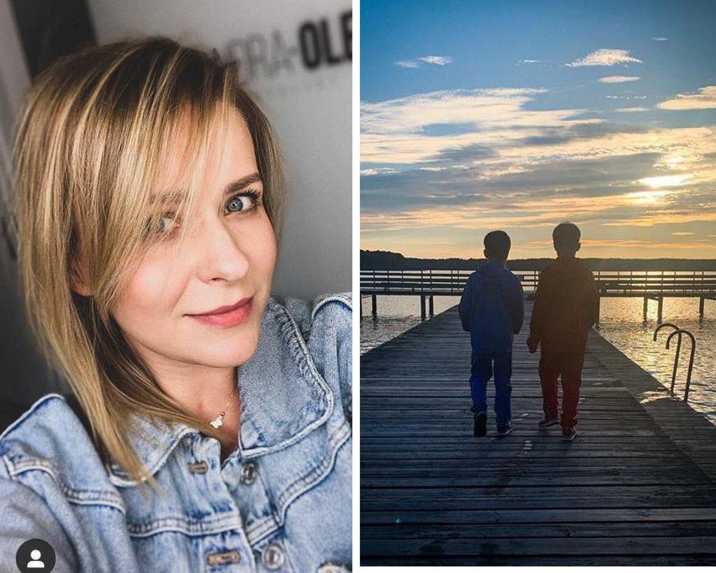 Aktorka zdecydowała się nie pokazywać w mediach społecznościowych twarzy swoich dzieci.