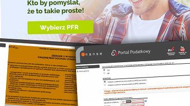PFR - wstępnie wypełnione zeznanie podatkowe