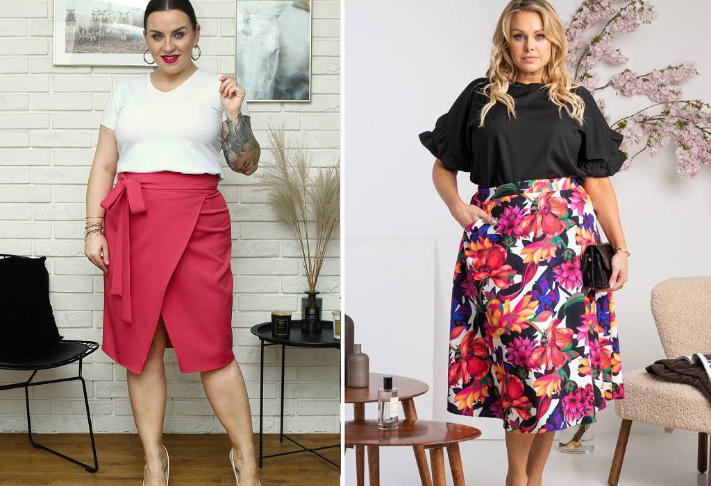 Eleganckie spódnice plus size