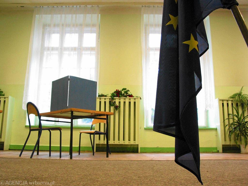 Wybory do Parlamentu Europejskiego. Zdjęcie z 2004 roku