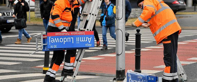 IPN apeluje do władz Warszawy, by nie zmieniały nazw ulic