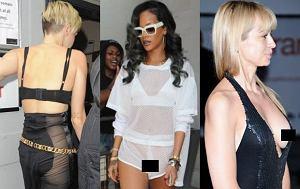 Rihanna, Anna Przybylska, Miley Cyrus