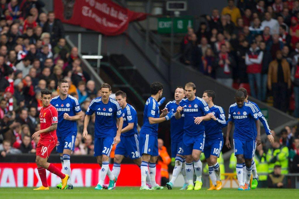 Radość piłkarzy Chelsea