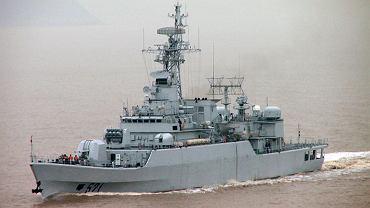 Okręt chińskiej marynarki wojennej