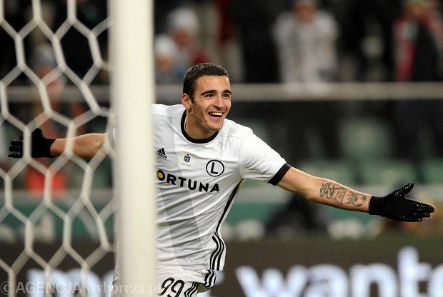 Legia - Piast 2:0. Sandro Kulenović