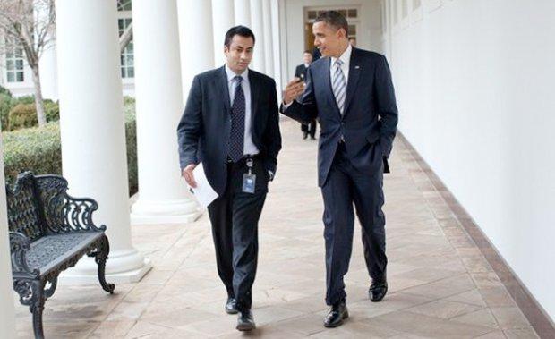 Kal Penn i Barack Obama