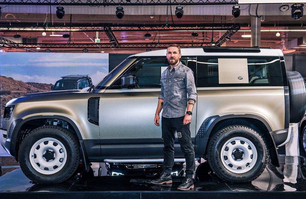 Przemek Kossakowski ambasadorem nowego Land Rovera Defendera