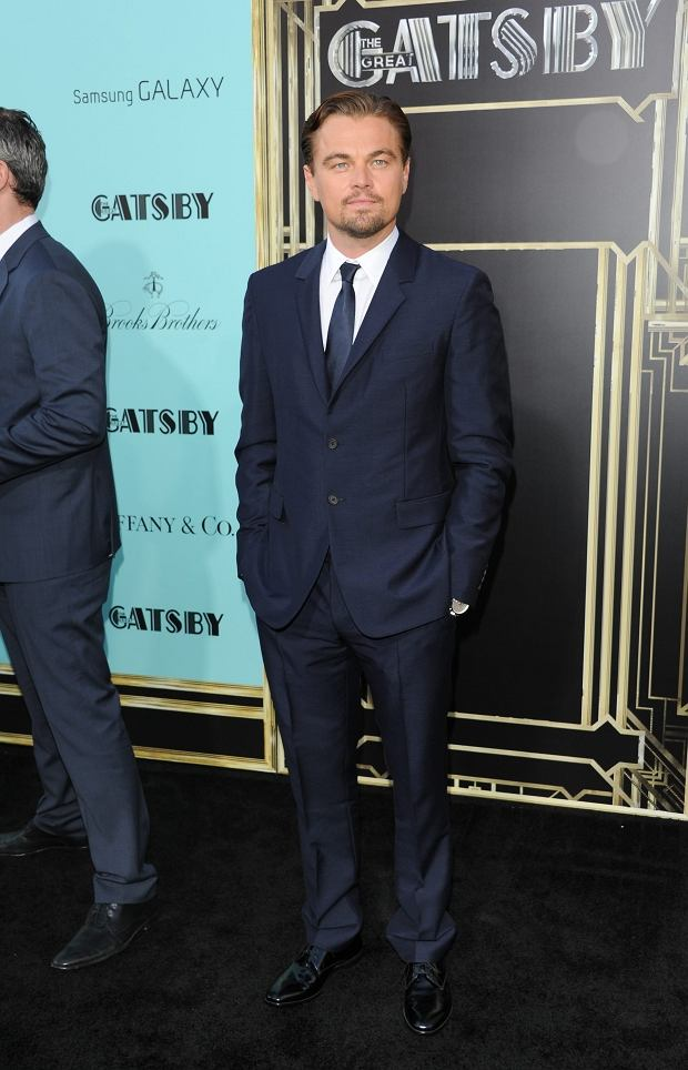 """Actor Leonardo DiCaprio attends """"The Great Gatsby"""" world premiere at Avery Fisher Hall on Wednesday May 1, 2013 in New York. (Photo by Evan Agostini/Invision/AP)"""