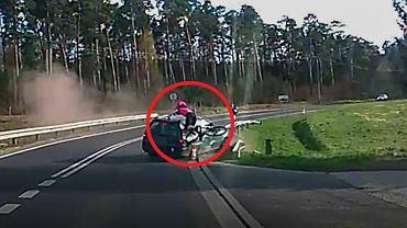 Zielona Góra. 36-letni Rosjanin wjechał w rowerzystkę