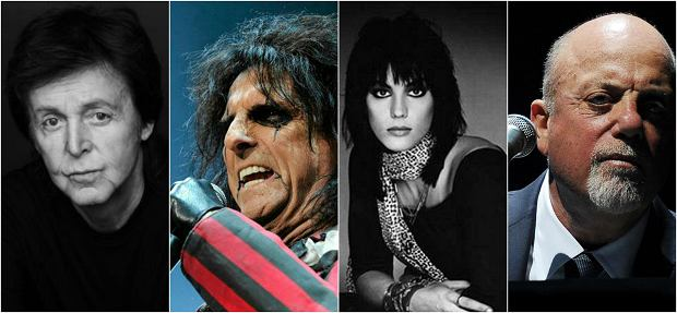 Sprawdź, jak Paul McCartney, Alice Cooper, Joan Jett i Billy Joel powitali rok 2017!