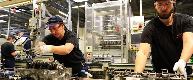 Produkcja przemysłowa w październiku zaskoczyła