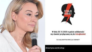 Martyna Wojciechowska strajkuje