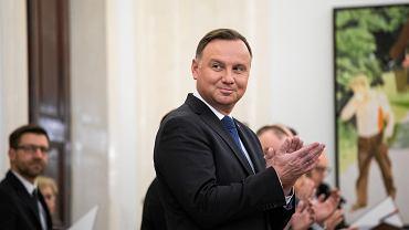 Prezydent RP Andrzej Duda desygnuje Mateusza Morawieckiego na Premiera RP, Warszawa 14.11.2019