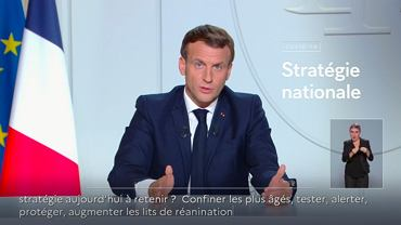 Emmanuel Macron ogłasza lockdown we Francji