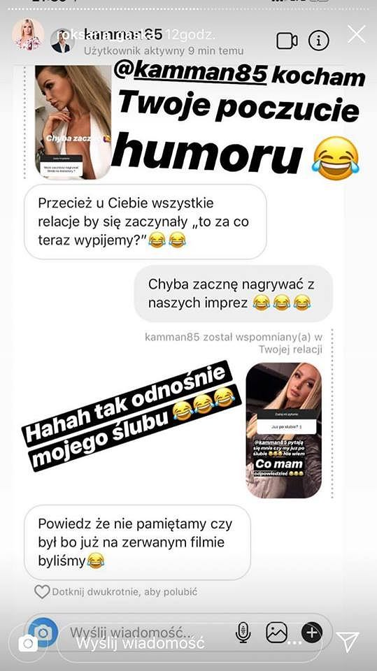 Post z Instagrama Roksany Gąski