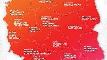 Kandydaci PiS na prezydentów miast