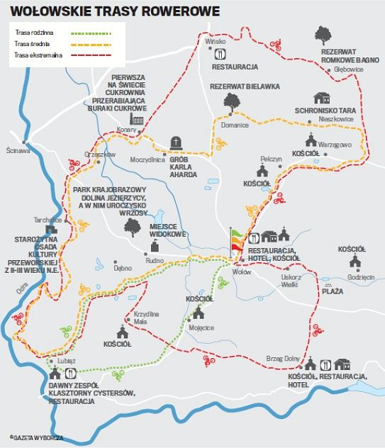 Mapka Wołów