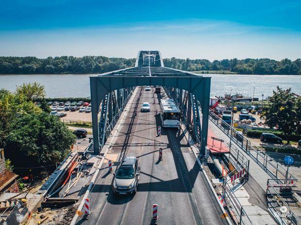 Zdjęcie numer 10 w galerii - Modernizacja mostu im. Piłsudskiego za 123 mln zł. Tak wygląda z drona