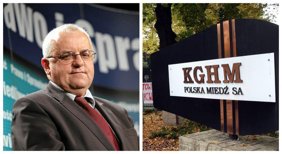 Chrześniak wiceprezesa PiS Adama Lipińskiego (na zdj.) został dyrektorem w oddziale KGHM
