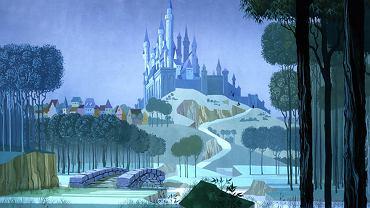 Kadr z animowanego filmu Śpiąca Królewna
