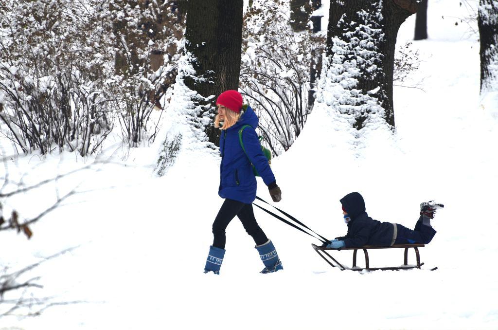 Ferie zimowe. zdjęcie ilustracyjne