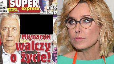 Okładka SE, Agata Młynarska