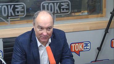 Włodzimierz Czarzasty w studiu TOK FM