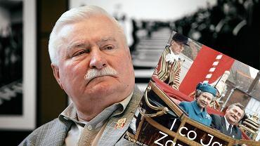 Lech Wałęsa i królowa Elżbieta