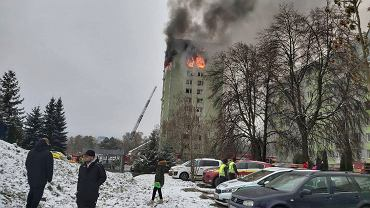 Wybuch gazu w wieżowcu na Słowacji