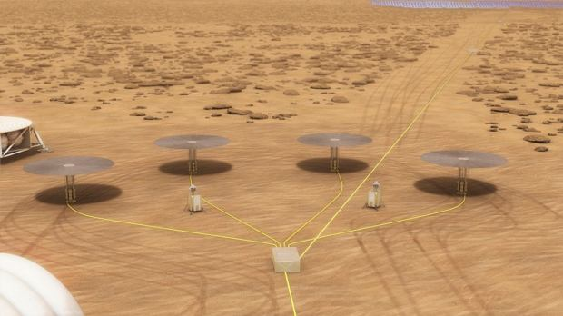 Projekt elektrowni jądrowej NASA na Marsie