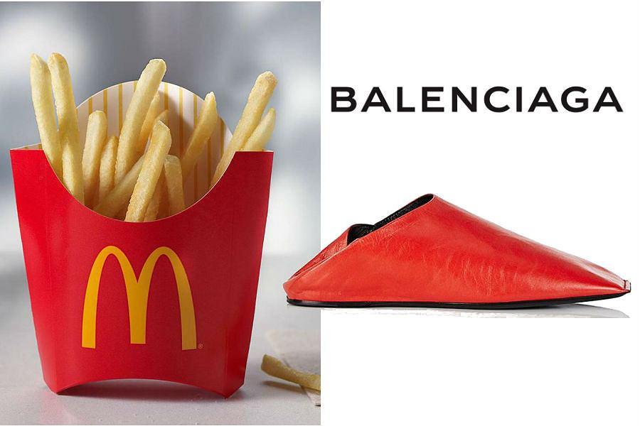 Buty Balenciaga jak paczka frytek McDonald's