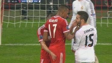 Franck Ribery uderza Daniela Carvajala