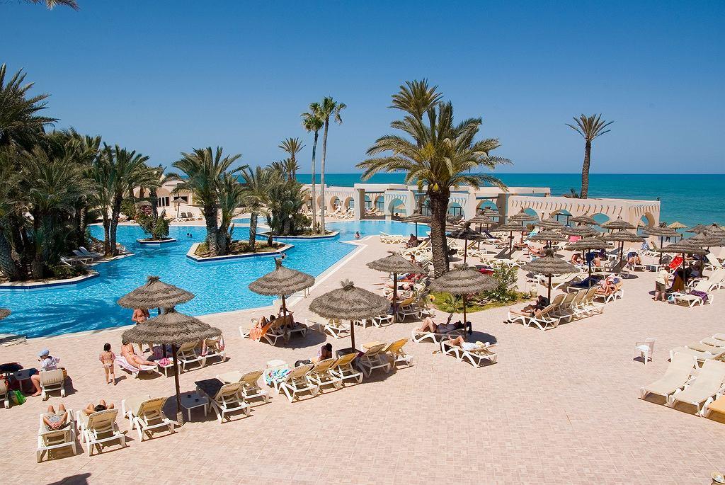 Tunezyjska plaża.