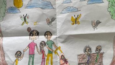 Premier pochwalił się rysunkiem otrzymanym od kilkuletniej dziewczynki.