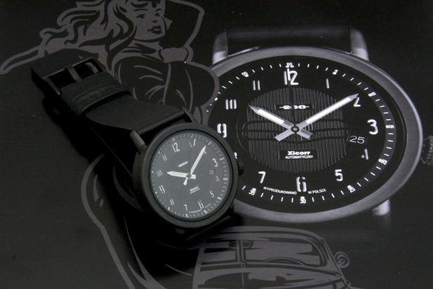 """Nowy zegarek Xicorr 200 """"Czarna Kaśka"""" inspirowany legendą warszawskiej Pragi"""