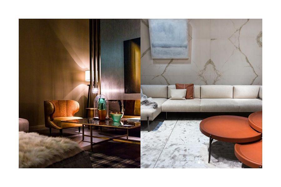 Wystawowe stylizacje na targach Salone Del Mobile Milano 2019