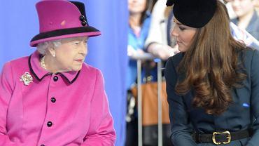 Królowa Elżbieta II szykuje niespodziankę dla księżnej Kate. Chce ją nagrodzić z okazji rocznicy jej ślubu z Williamem