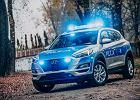 Policja ma 110 nowych radiowozów. Część z nich jest elektryczna