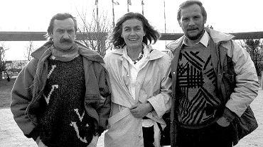 Jerzy Kukuczka, Wanda Rutkiewicz i Krzysztof Wielicki