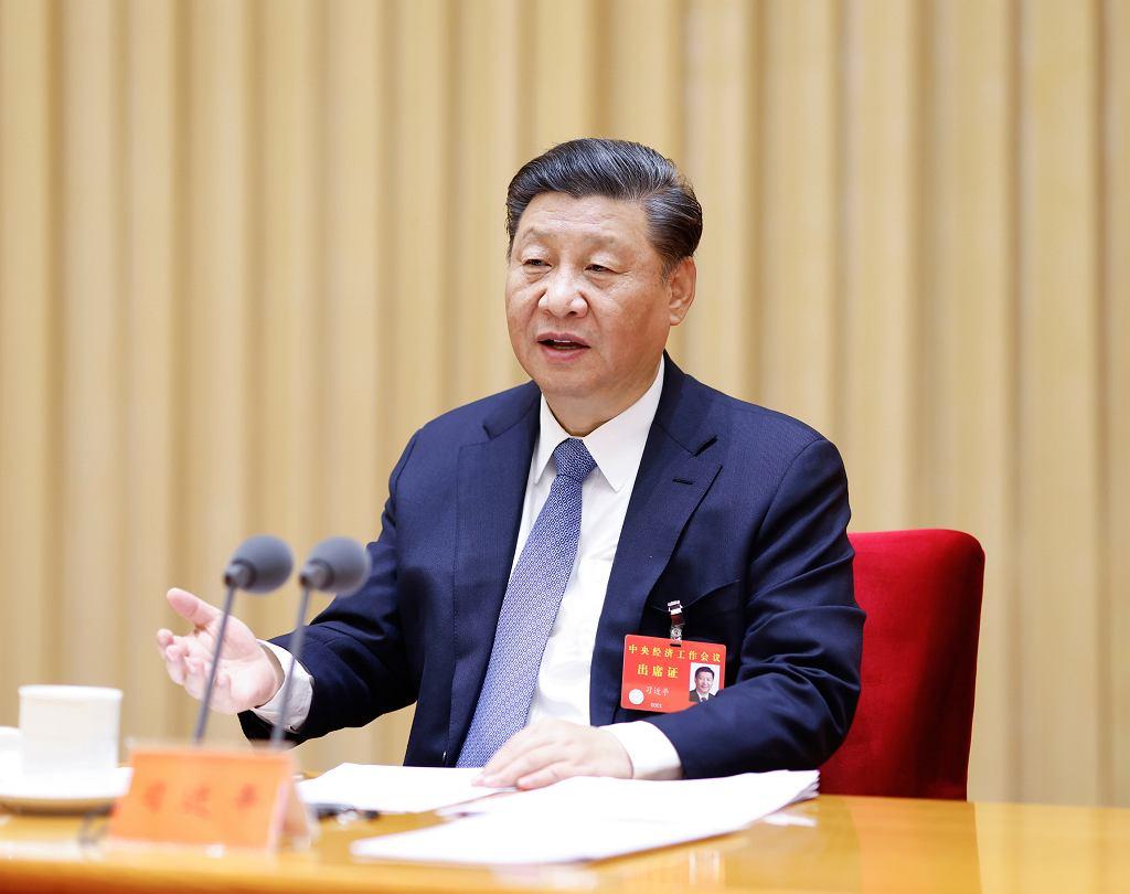 Xi Jinping, przywódca Chin.