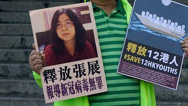 Chiny. Dziennikarka skazana na cztery lata więzienia za opisywanie pandemii COVID-19