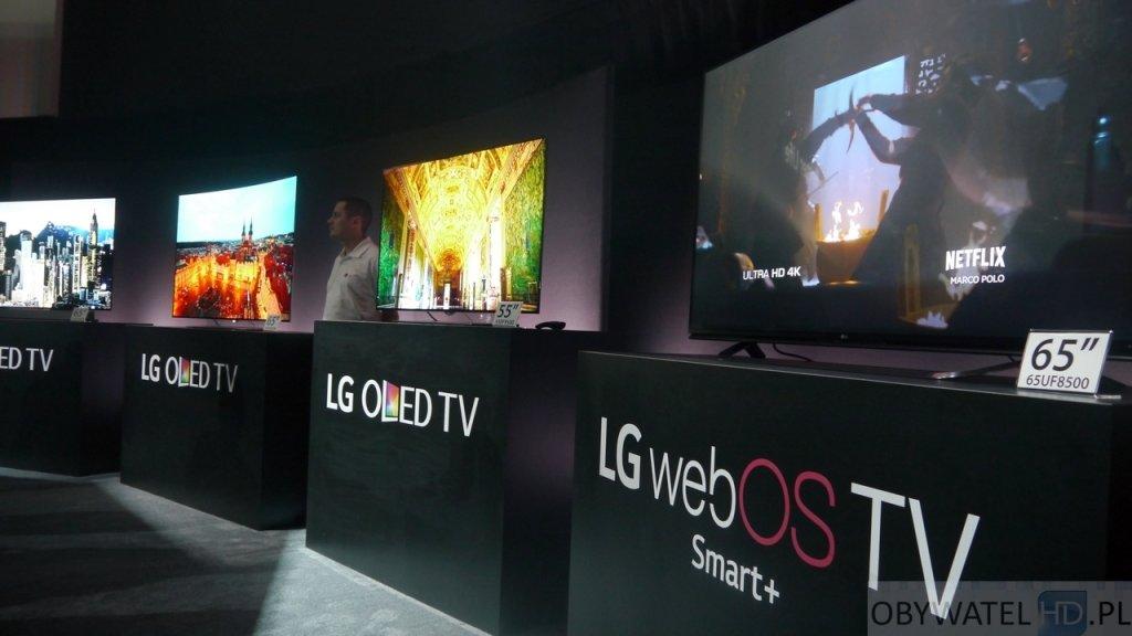 CES 2015 - LG OLEDy
